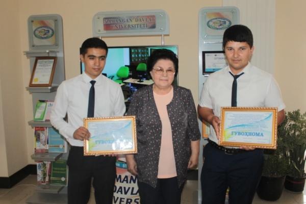 Молодые узбекистанцы представили свои инновационные проекты на суд международных специалистов