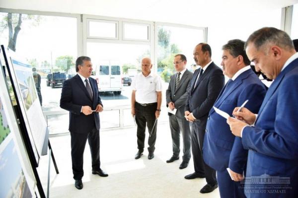 Поручено ускориться: первая очередь надземного метро в Ташкенте будет введена в строй к Наврузу