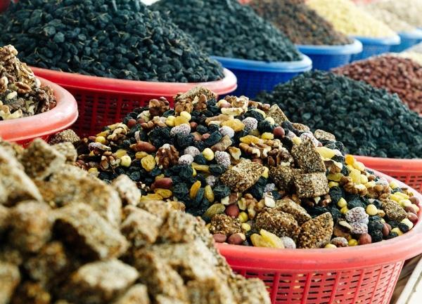 Китай становится крупным потребителем узбекской черешни, маша, изюма и орехов