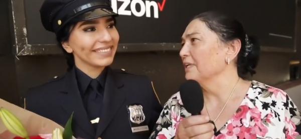 Полиция Нью-Йорка приняла на работу первую девушку-узбечку (видео)