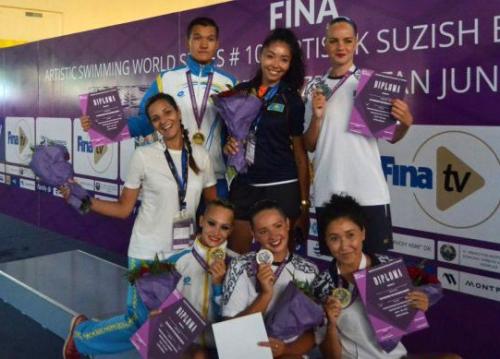 Семь медалей: сборная по артистическому плаванию победила в домашнем этапе Мировой серии FINA