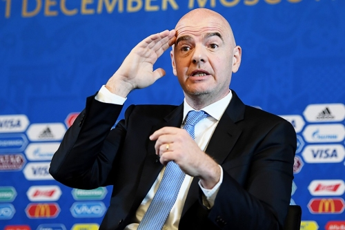 Президент ФИФА поблагодарил Россию за «лучший Кубок мира»