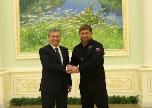 Рамзан Кадыров поздравил Шавката Мирзиёева с днем рождения видео-открыткой