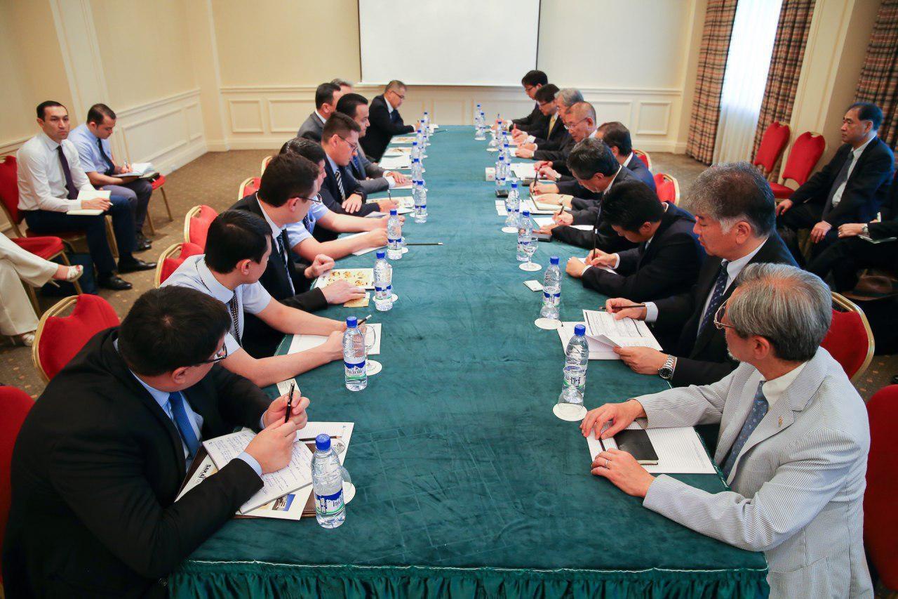 Делегация японских бизнесменов прибыла в Узбекистан