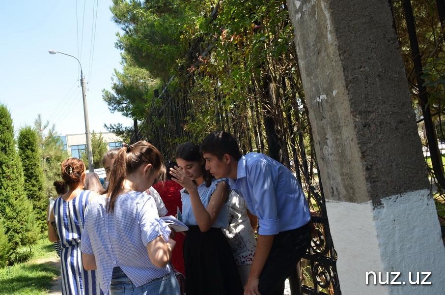 В Узбекистане стартовали вступительные экзамены в вузы