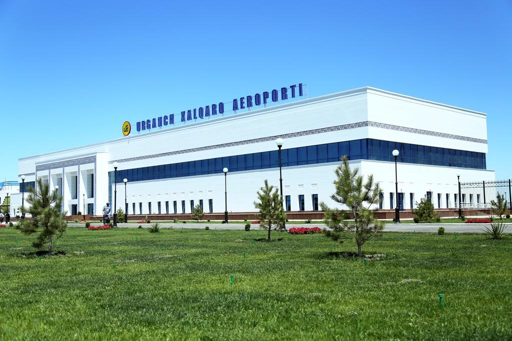Международный аэропорт «Ургенч» начнет работу 8 августа