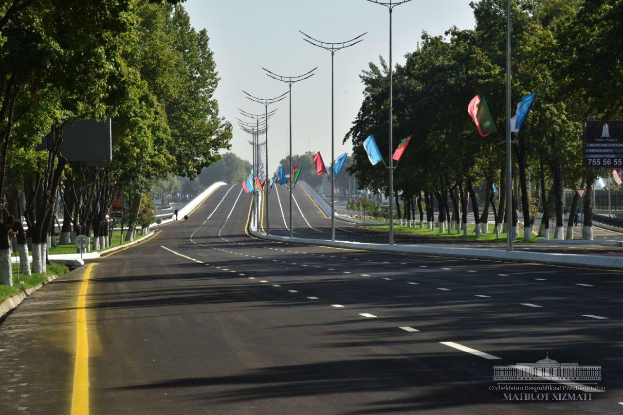 На улице Бунёдкор открыт новый мост (фото)