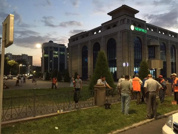 По просьбам жителей: открыты два перекрестка на улице Ойбека в столице