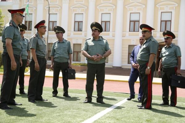 В Министерстве обороны прошла встреча с делегацией Таджикистана