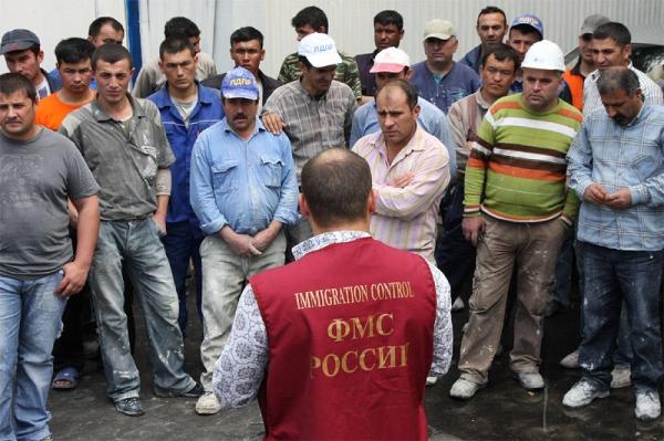 В России зарегистрировано около 2 миллионов узбекистанских мигрантов