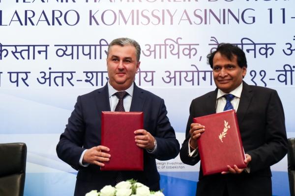 Туризм, здравоохранение и инвестиции: в Ташкенте прошло заседание узбекско-индийской межправительственной комиссии