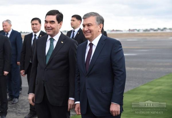 Шавкат Мирзиёев 24 августа посетит Туркменистан