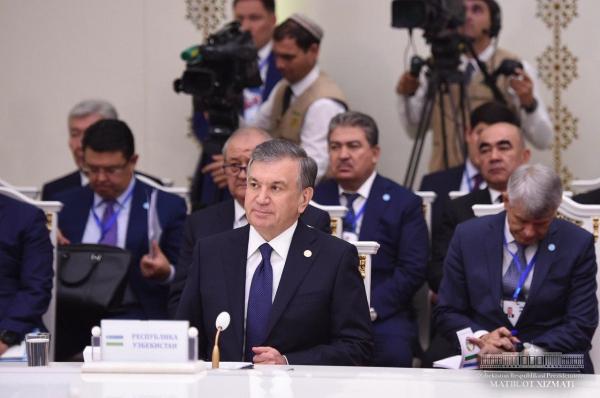 Шавкат Мирзиёев выдвинул предложения по совершенствованию деятельности Международного фонда спасения Арала