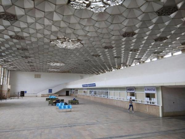 """В столице реконструируют автовокзал """"Ташкент"""" (фото)"""