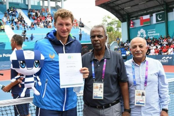 Денис Истомин завоевал «золото» Азиатских игр и первую путевку на Олимпиаду-2020
