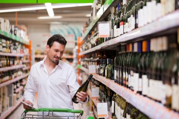 В крупных супермаркетах могут снова появиться отделы по продаже алкогольной продукции