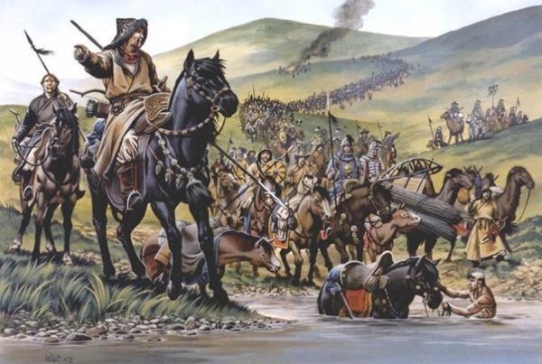 Под монгольским игом