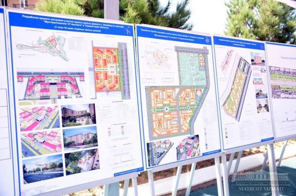 В этом году в Ташкентской области будет построено 62 многоэтажных дома
