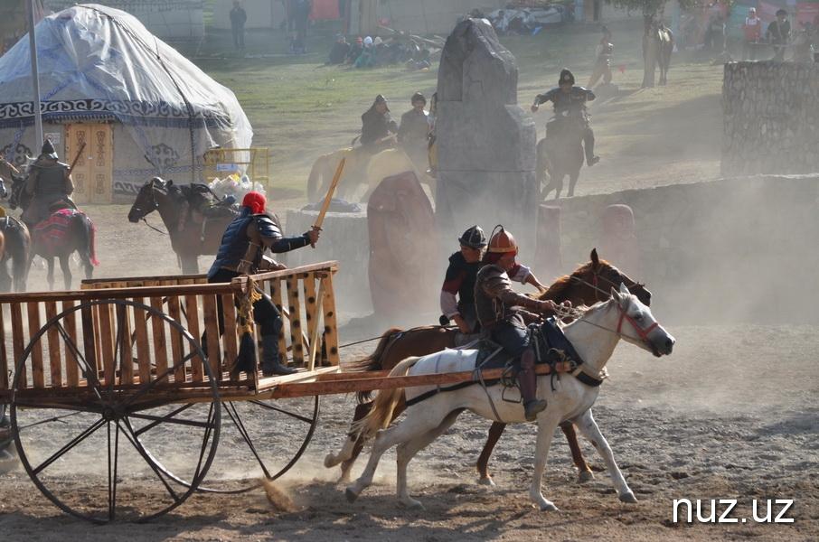 Тысяча юрт, базар и история кочевников: в поселке Кырчын развернулся этногородок (фото)