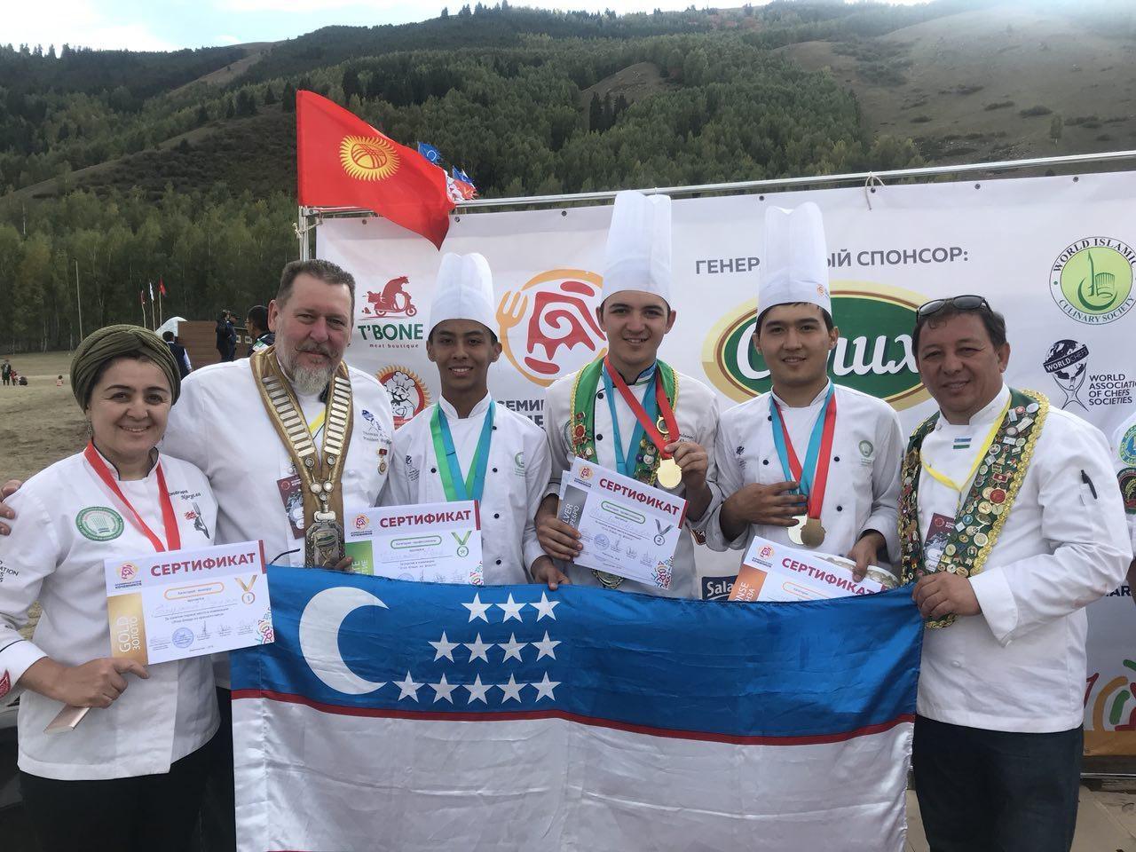 Всемирные игры кочевников: команда поваров Узбекистана завоевала Гран-при на фестивале этноблюд (фото)