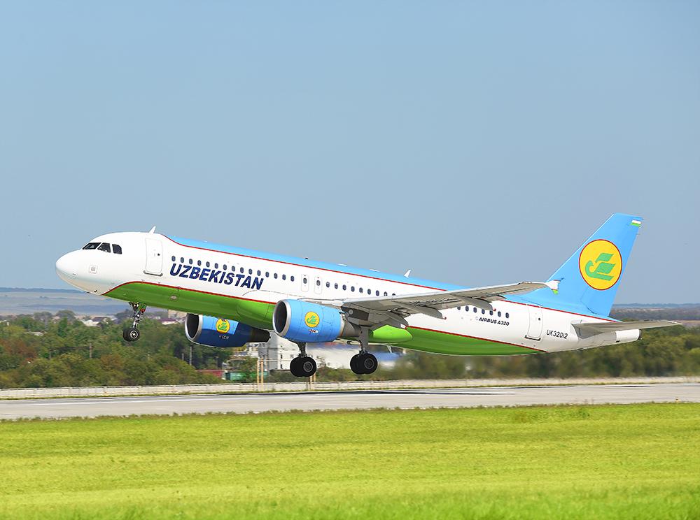 «Узбекистон хаво йуллари» признана самой пунктуальной авиакомпанией в Казахстане