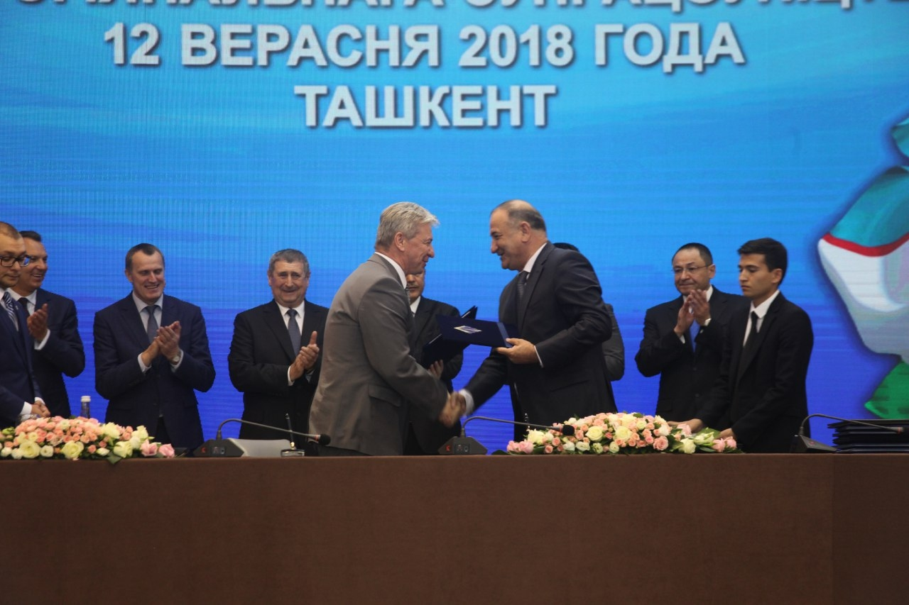 82 контракта подписаны на полях Узбекско-Белорусского делового и межрегионального форума