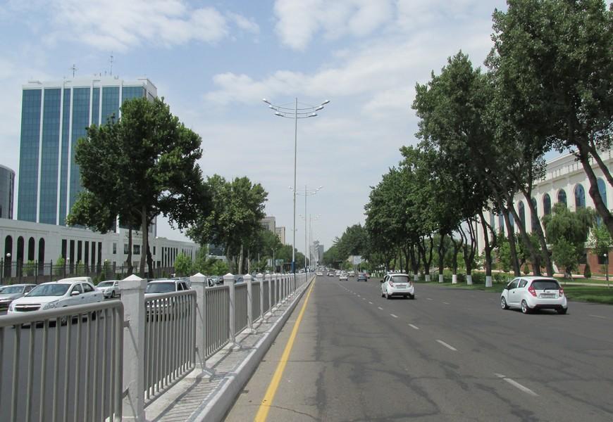 В связи с проведением Open Air в Ташкенте закроют ряд улиц