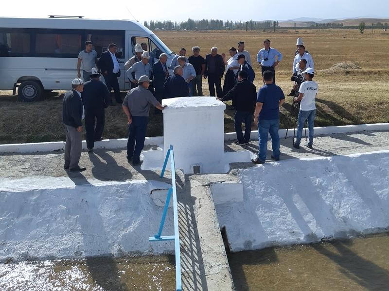 Кыргызская и узбекская стороны обсудили ситуацию по трансграничной реке Падыша-Ата (Падышаата)