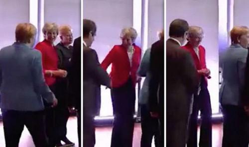 Меркель публично оскорбила Мэй