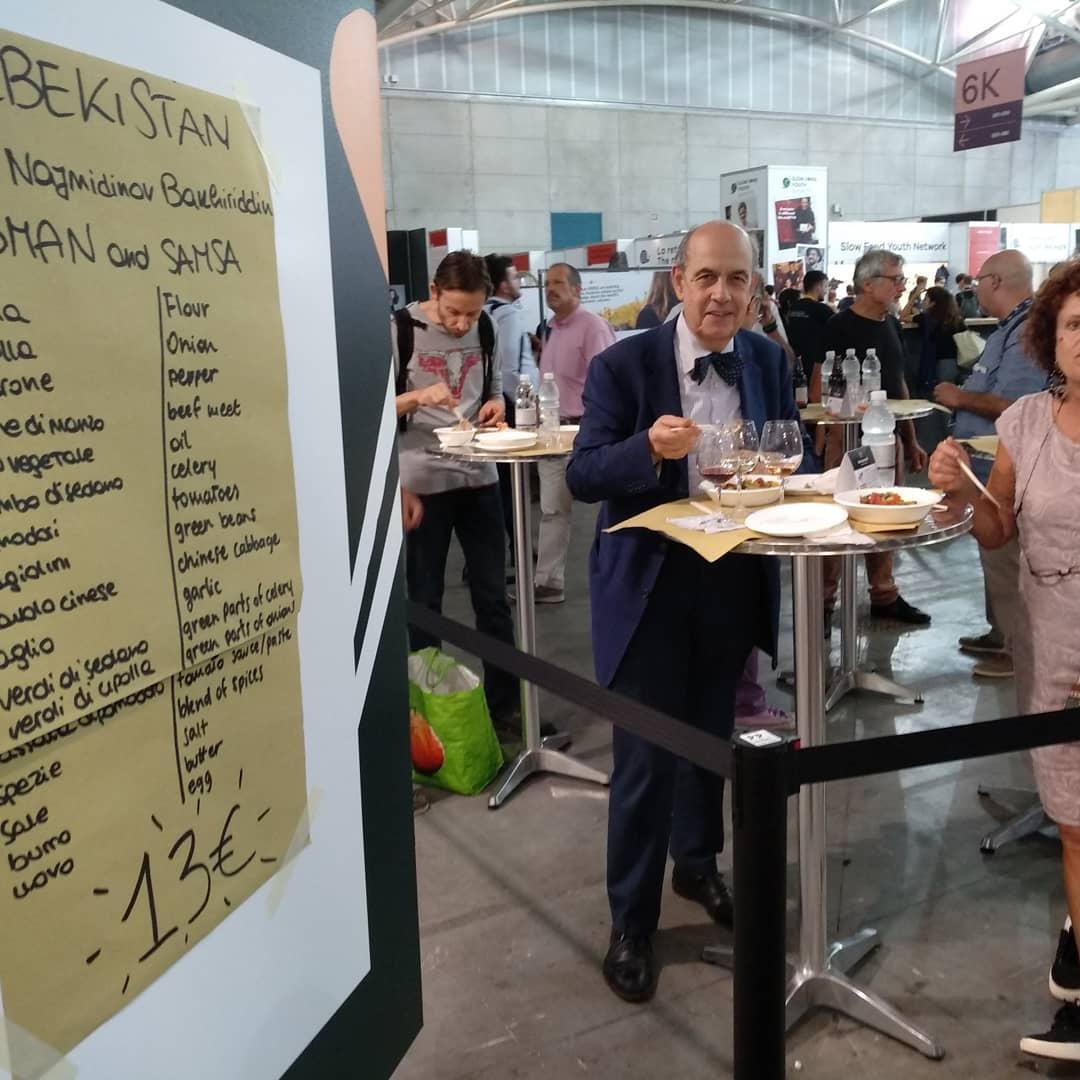 """Гастрономическая карта Земли: Узбекистан участвует в выставке  """"Салон Вкуса-2018"""" в Турине"""