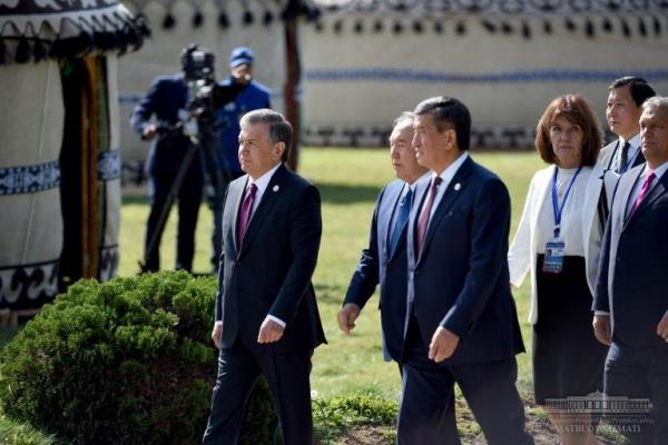 Президент Шавкат Мирзиёев Туркий тилли давлатлар ҳамкорлик кенгаши саммитида нутқ сўзлади