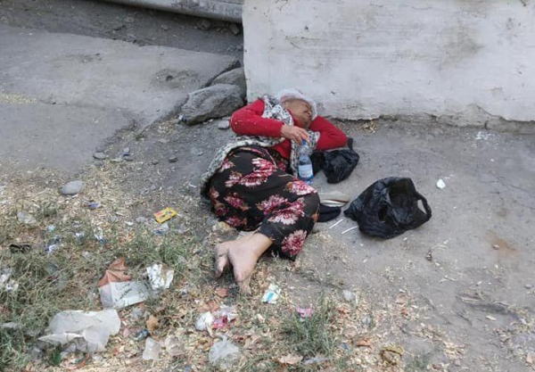 После публикации в соцсети Комитет женщин занялся проблемой бездомной пенсионерки