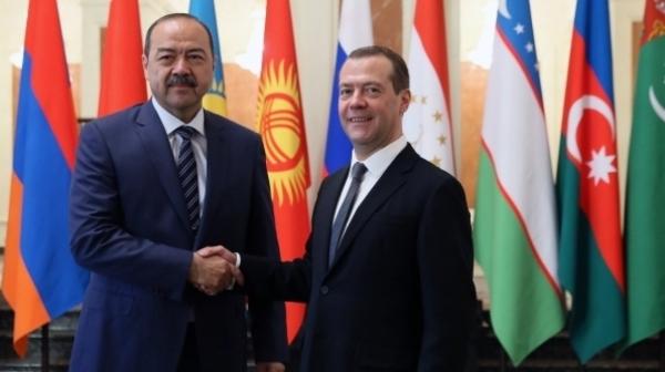 Встреча премьеров: Абдулла Арипов проведет переговоры с Дмитрием Медведевым