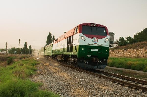 Таджикистанские поезда будут делать остановки в Термезе, Карши и Самарканде