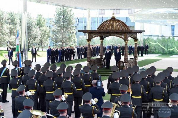 По итогам визита президента Египта подписано 12 документов (фото, видео)
