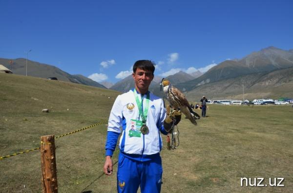 Всемирные игры кочевников: сокол Балабан принес Узбекистану бронзу
