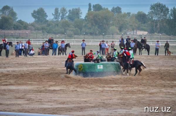 Всемирные игры кочевников: Узбекистан стал серебряным призером по кок-бору (фото)