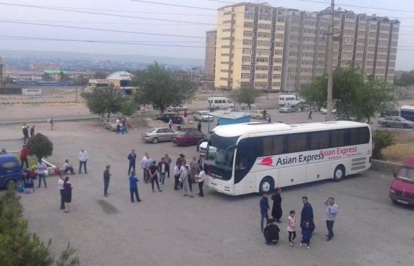 Узбекистан и Таджикистан связали три новых автобусных маршрута