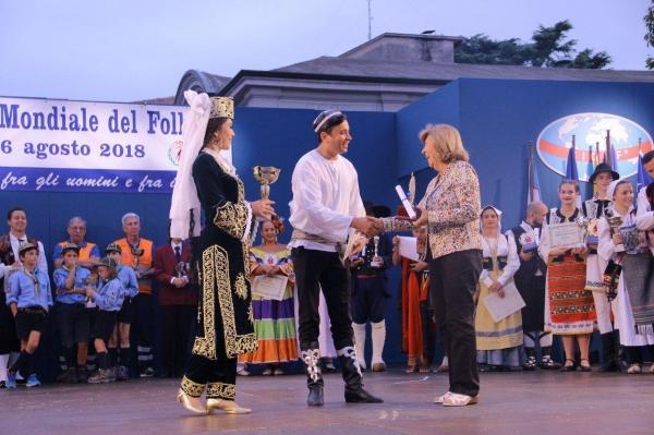 Ансамбль «Узбегим ёшлари» стал призером международных музыкальных фестивалей в Италии