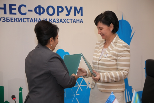 Женщины-предприниматели Узбекистана и Казахстана впервые в истории двух стран провели бизнес-форум и кооперационную биржу