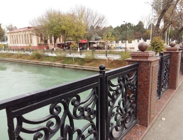 В Ташкенте девушка пыталась броситься с моста над Анхором