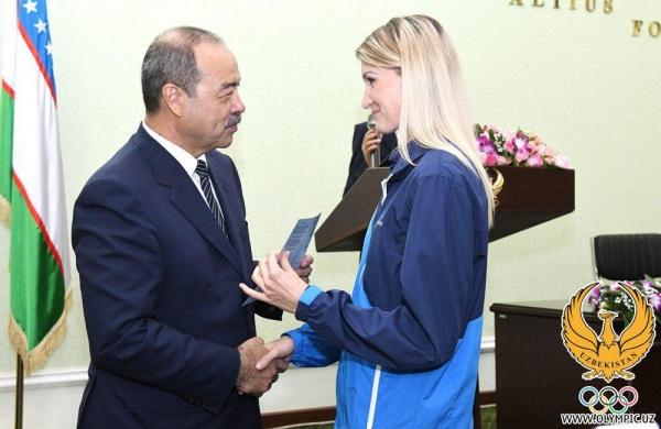 Победителям Азиатских игр и их тренерам вручены денежные награды