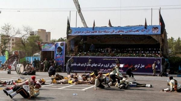 Нападение на военный парад в Иране: 25 погибших