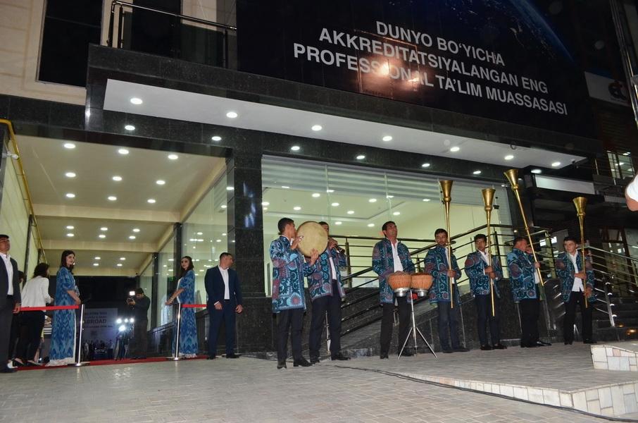В Ташкенте открылся международный учебно-экзаменационный центр GRBS