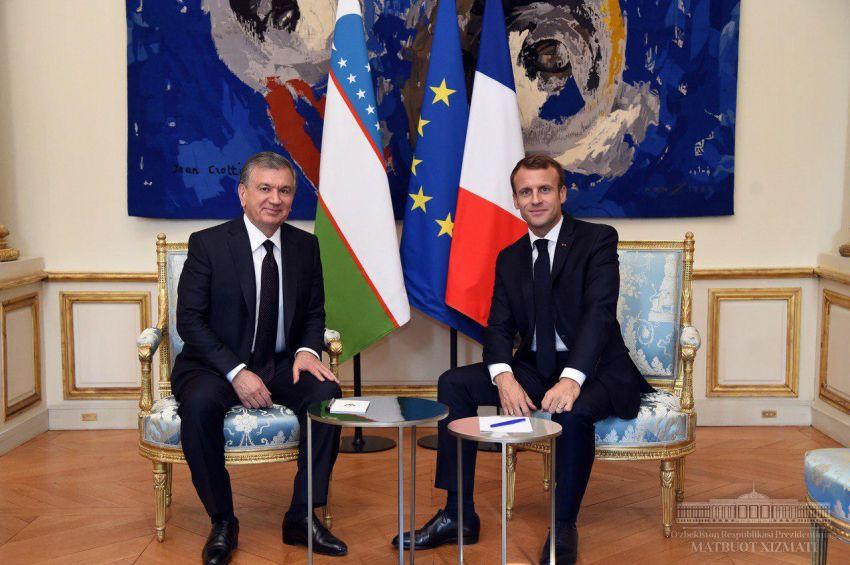 Узбекистан и Франция подписали 10 межправительственных и межведомственных документов