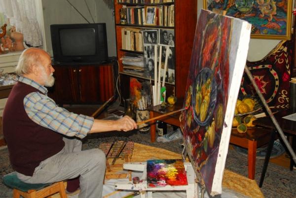Я - узбекский художник