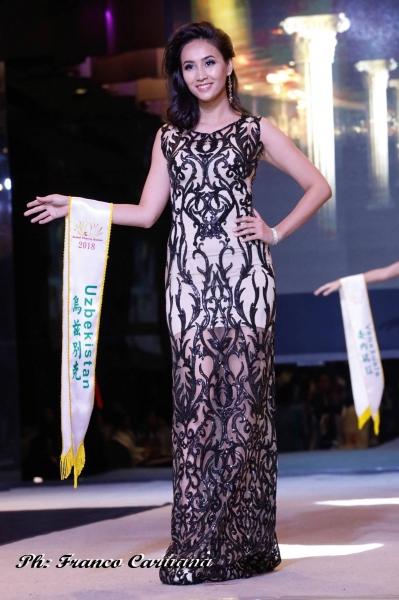 Узбекистанская модель завоевала награду международного конкурса Global Charity Queen