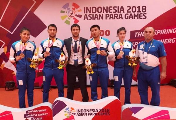 Параазиатские игры в Джакарте: 31 медаль, мировой рекорд и 3 место в общекомандном зачете