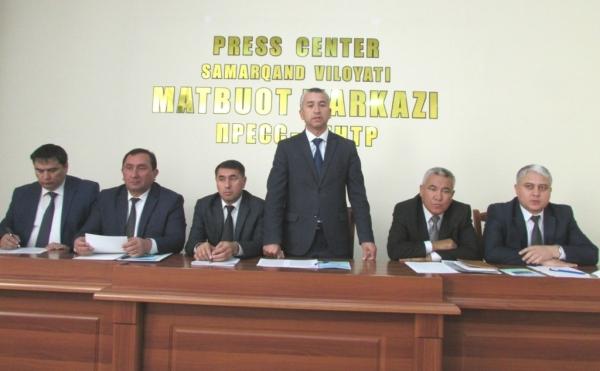 В Самарканде руководители областных судов провели брифинг. А почему не пресс-конференцию?