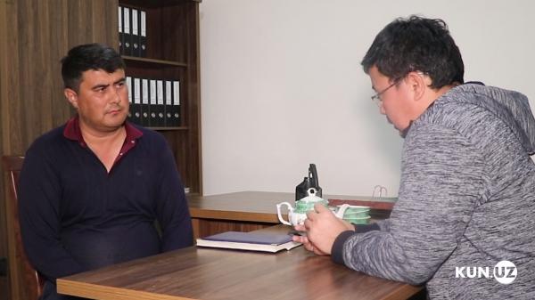 «Я рассердился и стал в арык»: заместитель хокима Аккурганского района рассказал, как он и другие пять мужчин оказались в воде (видео)